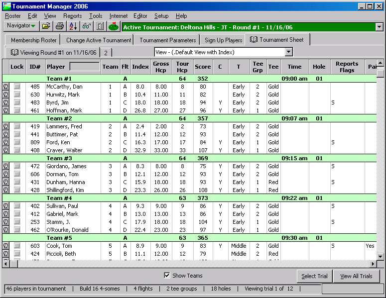 GolfSoftware com - Golf Tournament Software